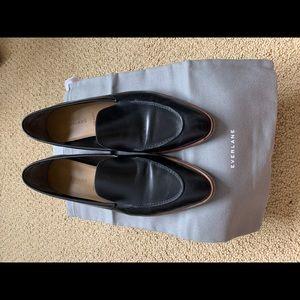 Everlane The Modern Loafer Size 10 Black Leather